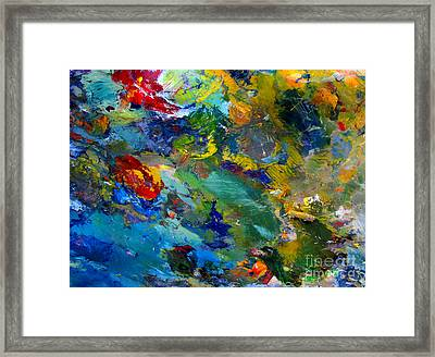 Color Worlds Framed Print by Charlie Spear