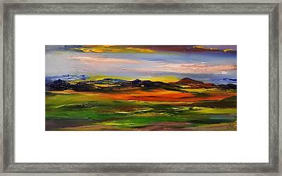 Color Your World    #58 Framed Print