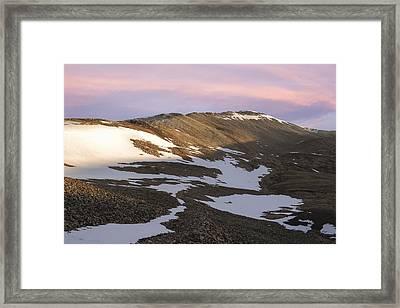 Colorado 14er Mt. Sherman Framed Print by Aaron Spong