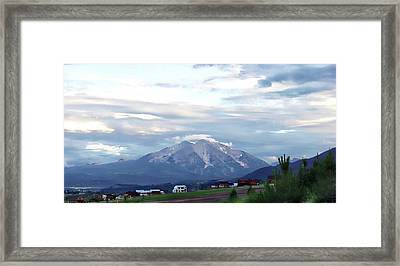 Colorado 2006 Framed Print by Jerry Battle