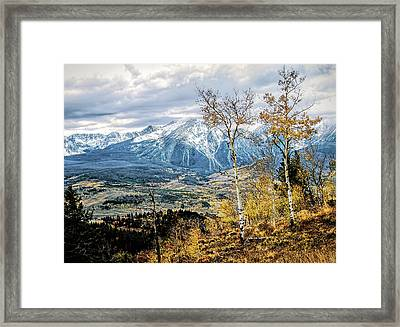 Colorado Autumn Framed Print