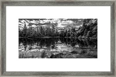Colorado Calm Framed Print by Jon Glaser
