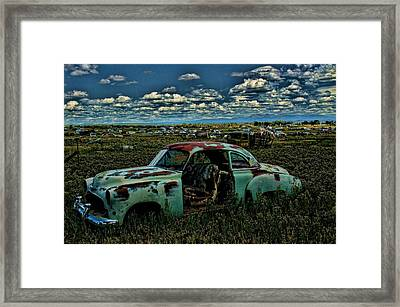 Colorado Chevy Framed Print by Nick Roberts