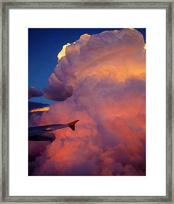 Colorado Cloud Framed Print by Gina Cordova