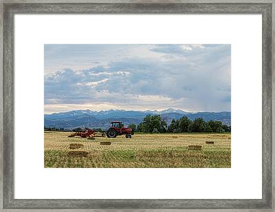 Framed Print featuring the photograph Colorado Country by James BO Insogna