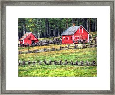 Colorado Countryside  Framed Print