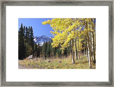 Colorado Dreamin' Framed Print by Eric Glaser