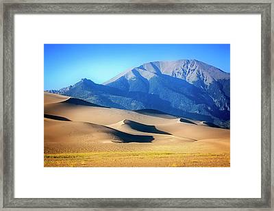 Colorado Dunes Framed Print
