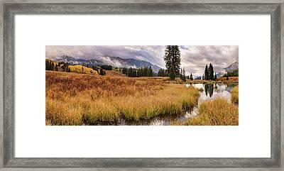 Colorado Fall Colors 3  Framed Print