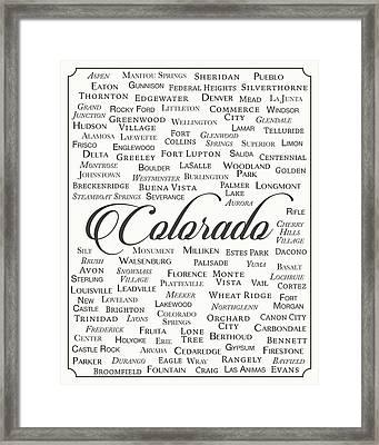 Colorado Framed Print