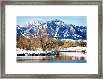 Colorado Flatirons 2 Framed Print