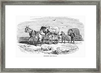 Colorado Gold Rush, 1859 Framed Print by Granger