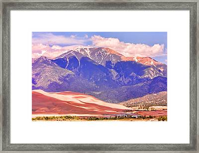 Colorado Great Sand Dunes National Park  Framed Print by James BO  Insogna
