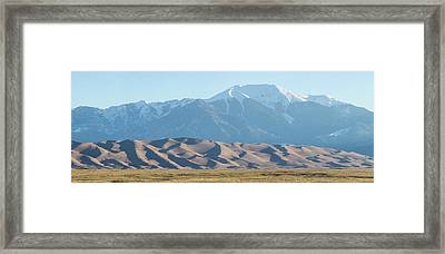 Colorado Great Sand Dunes Panorama Pt 2 Framed Print by James BO Insogna