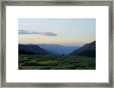 Colorado High Country Framed Print