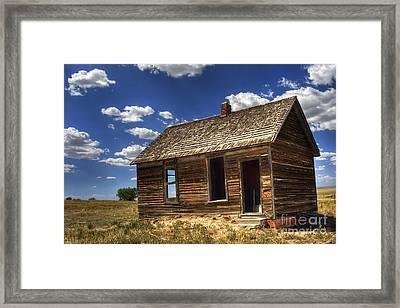 Colorado Homestead Framed Print