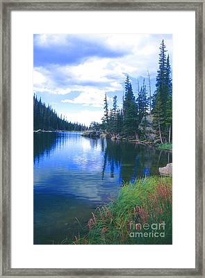 Colorado Lake Framed Print