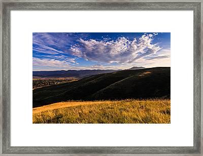 Colorado Landscape Framed Print by Jonathan Gewirtz