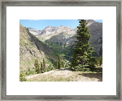 Colorado Mountain 1 Framed Print by Bruce Miller