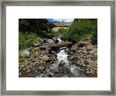 Colorado Mountain 3 Framed Print by Bruce Miller