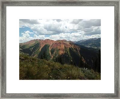 Colorado Mountain 4 Framed Print