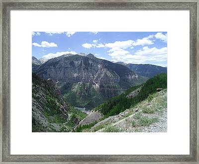 Colorado Mountain 5 Framed Print by Bruce Miller