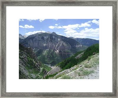 Colorado Mountain 5 Framed Print