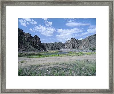 Colorado Mountain 7 Framed Print by Bruce Miller