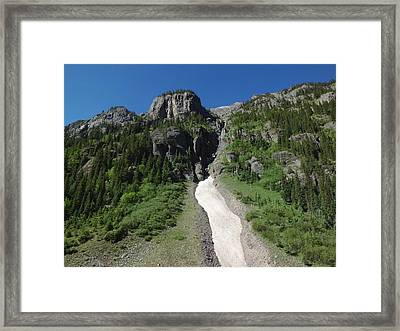 Colorado Mountain 8 Framed Print by Bruce Miller