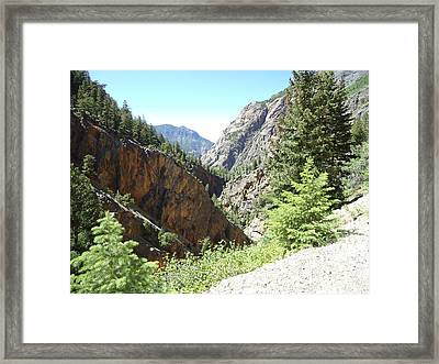 Colorado Mountain 9 Framed Print by Bruce Miller