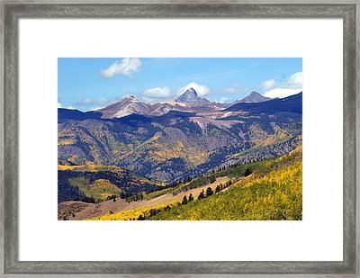Colorado Mountains 1 Framed Print by Marty Koch