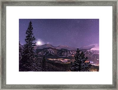 Colorado Night Framed Print by Michael J Bauer