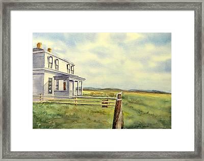 Colorado Ranch Framed Print