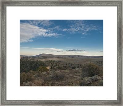 Colorado Range Framed Print
