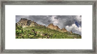 Colorado Ridgeway Framed Print by Pete Hellmann