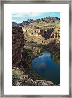 Colorado River Grand Canyon National Park Framed Print