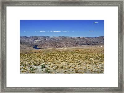 Colorado River In Arizona Framed Print by RicardMN Photography