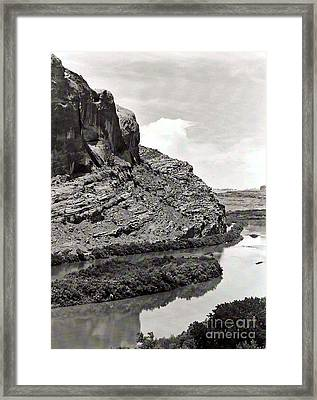 Framed Print featuring the photograph Colorado River by Juls Adams