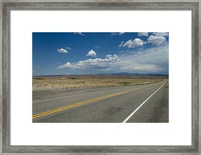 Colorado Road Framed Print