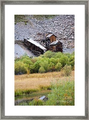Colorado Silver Mine  Framed Print
