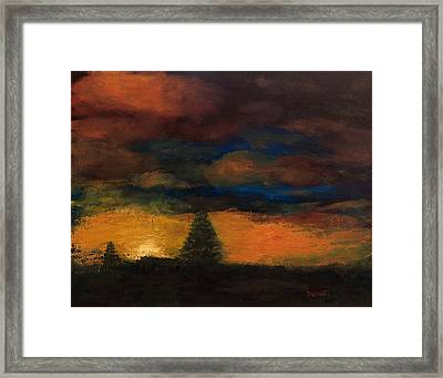 Colorado Sunrise Framed Print by Bill Brauker