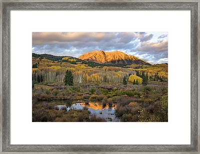 Colorado Sunrise Framed Print by Phyllis Peterson
