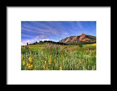 Colorado Landscapes Framed Prints