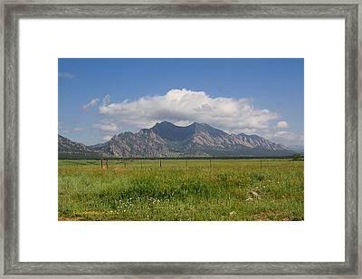 Colorado Wonder Framed Print by KatagramStudios Photography