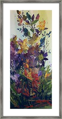 Colorburst Framed Print
