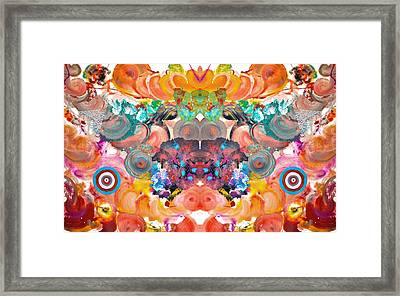 Colored Madness Framed Print by Sumit Mehndiratta