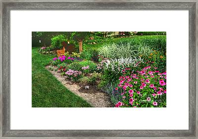 Colored Morning Framed Print by David Bearden