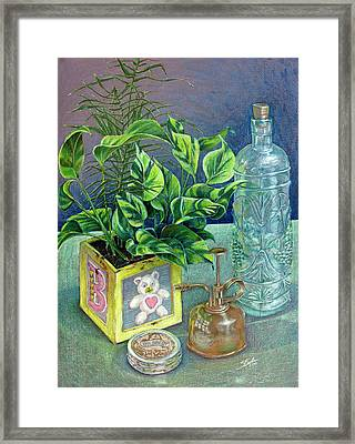 Colored Pencil Still Life Framed Print by Stephen Boyle