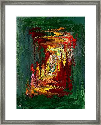 Colored Rectangle Framed Print by Rafi Talby