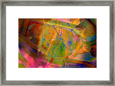 Colored Seed Framed Print by Jeff Swan
